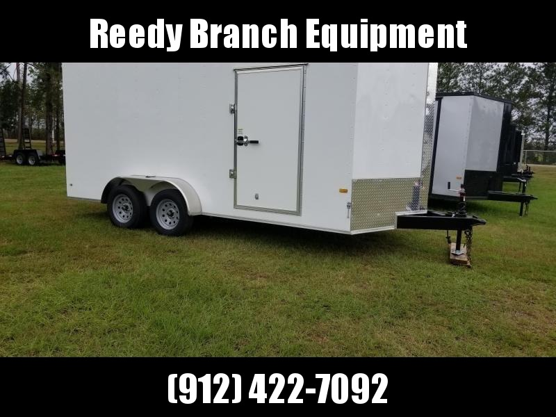 2018 ROCK SOLID CARGO (7 FT HEIGHT) 7X16TA2 Enclosed Cargo Trailer