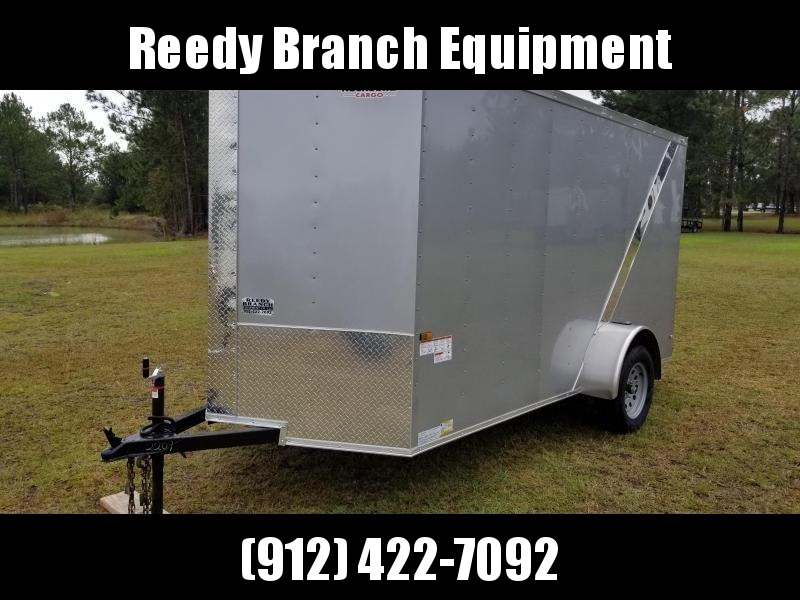 2018 ROCK SOLID CARGO(SILVER FROST) 6X12SA-3500LB Enclosed Cargo Trailer