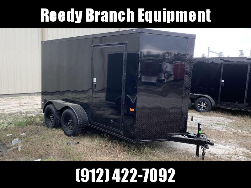 New 6x12 Rock Solid Enclosed Cargo Trailer Blackout (ALL SIZES)