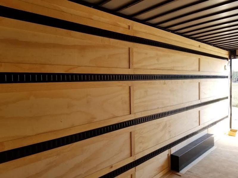 Floor or Wall E-Track $12 per foot.