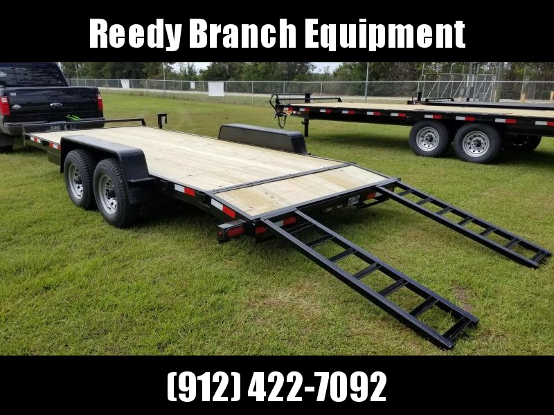 2018(18 FOOT)(10000LB) Down 2 Earth Trailers  DTE8218WCH5.2B CAR HAULER