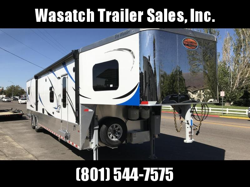 2018 Sundowner Trailers 43ft White Toy Hauler