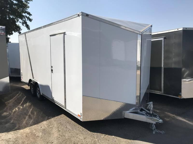 2018 Cargo Mate 8x20 Aluminum Equipment Trailer