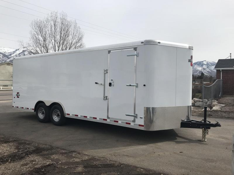 2018 Charmac Trailers 100X22 Commercial Duty Cargo Enclosed