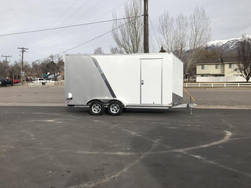 2018 Cargo Mate 7X16 RedLine Aluminum Enclosed Cargo Trailer