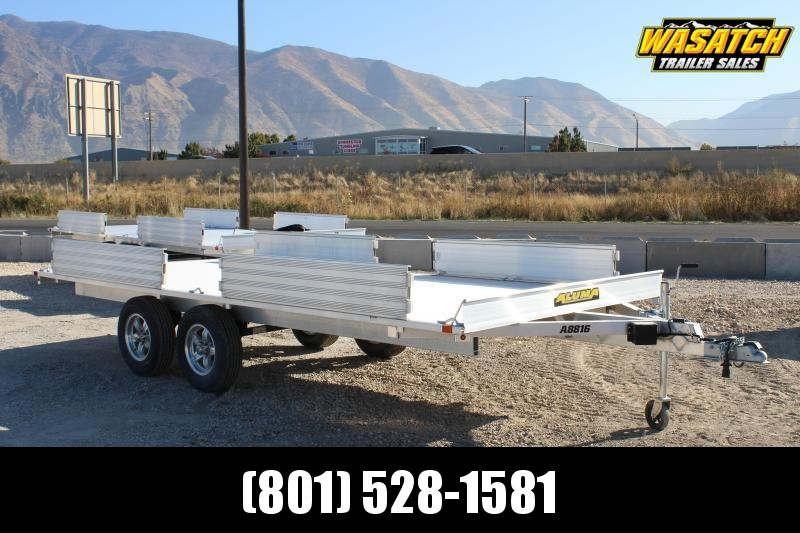 "Aluma 88""X16' Aluminum ATV Trailer"