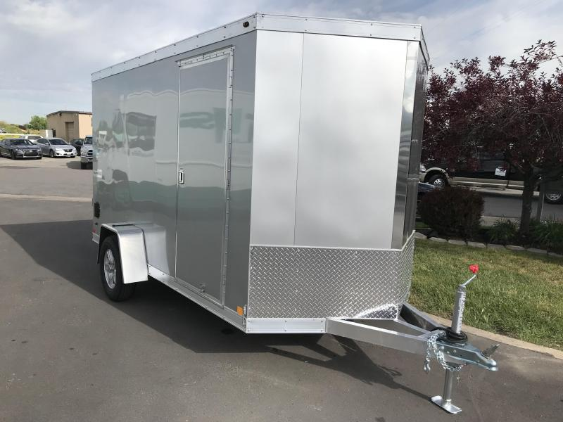2018 Haulmark 6 x 12 Aluminum Enclosed Cargo Trailer