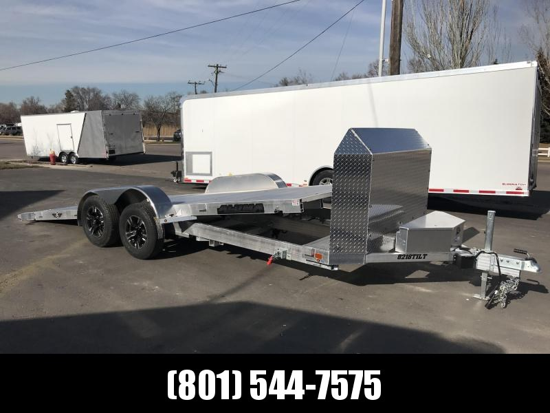 Aluma 8218 Tilt A 25th Anniversary Trailer