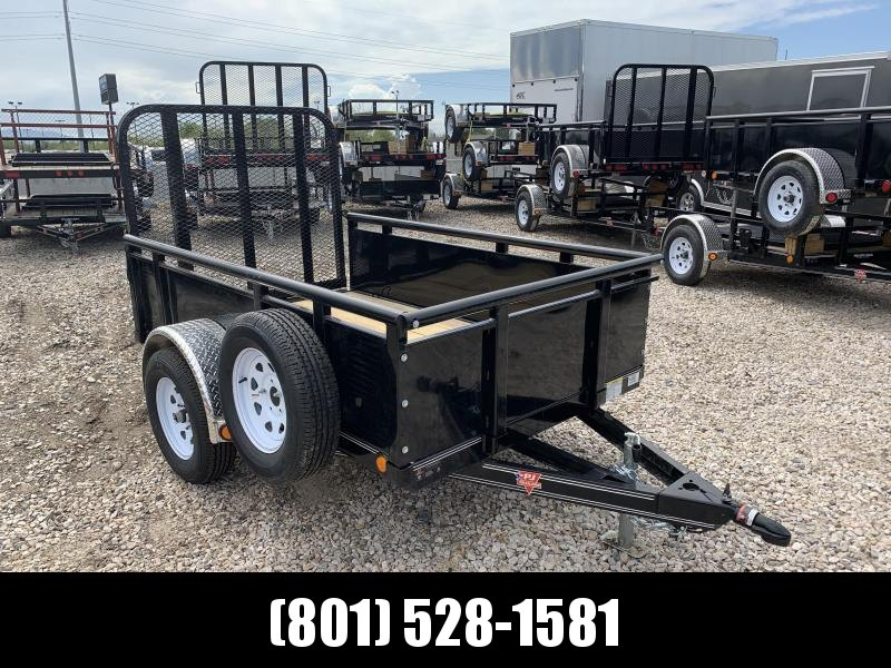 2019 PJ Trailers 60 in. Single Axle Channel Utility (U6) Utility Trailer