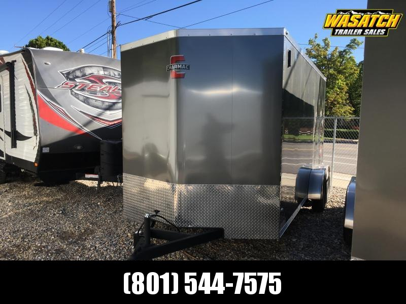 2020 Charmac Trailers Charcoal & Black 7x16 Stealth Enclosed Cargo Trailer