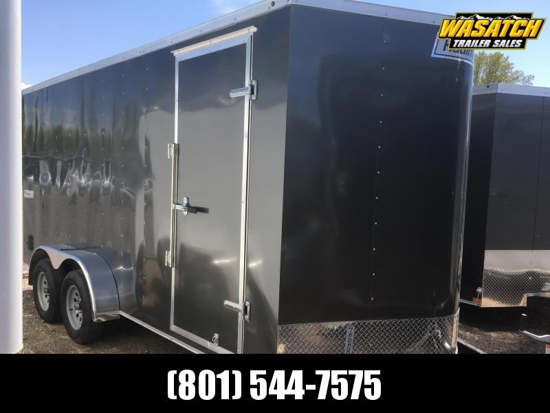 7x16 Haulmark Passport Deluxe Enclosed Cargo Trailer