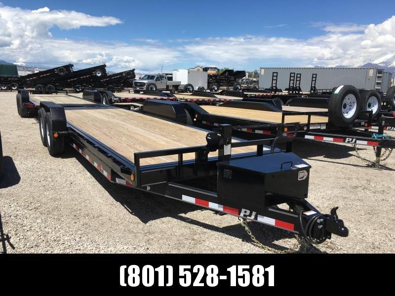 PJ Trailers 22ft Full Powered Tilt Deck (TF) Equipment Trailer