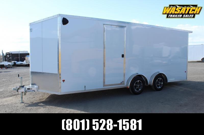 EZ Hauler 7.5x20 Aluminum Enclosed Cargo Trailer