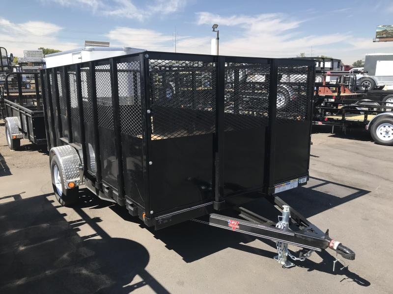 2019 PJ Trailers 12ft High Side U7 Utility Trailer