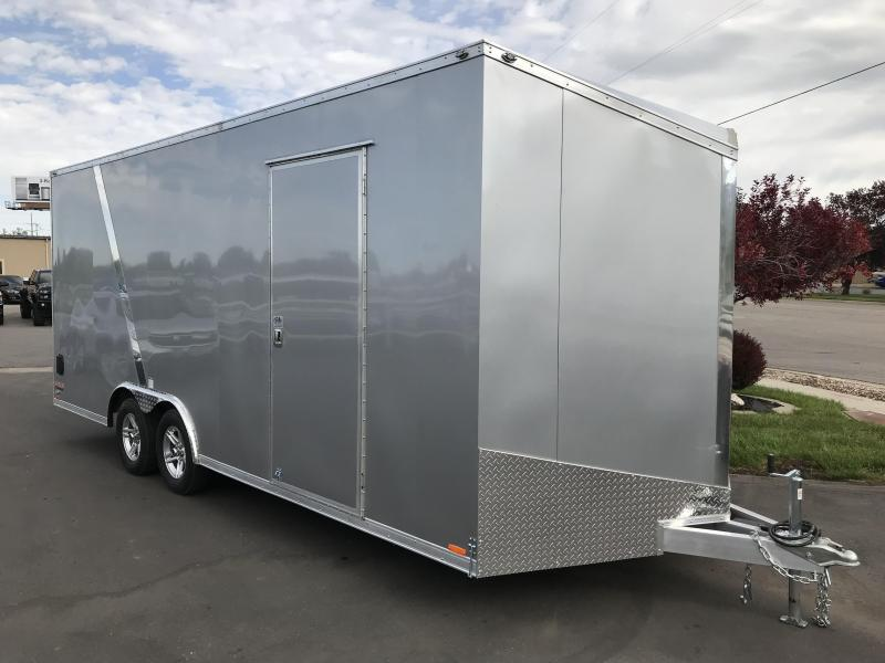 2019 Cargo Mate 8 20 E-series Aluminum Enclosed Cargo Trailer