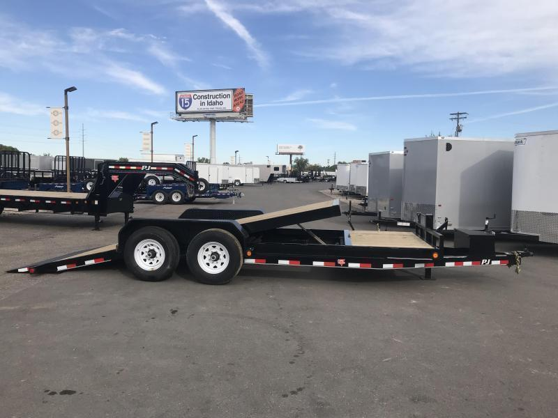 2019 PJ Trailers 20 Tilt Equipment Trailer