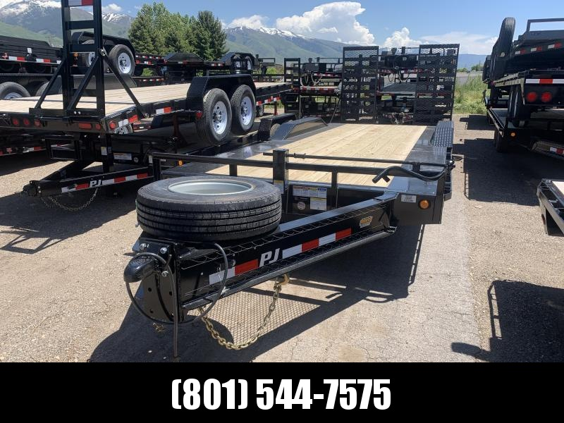 "PJ 22ft - 10"" Pro-Beam Super-Wide (H7) Equipment Trailer"