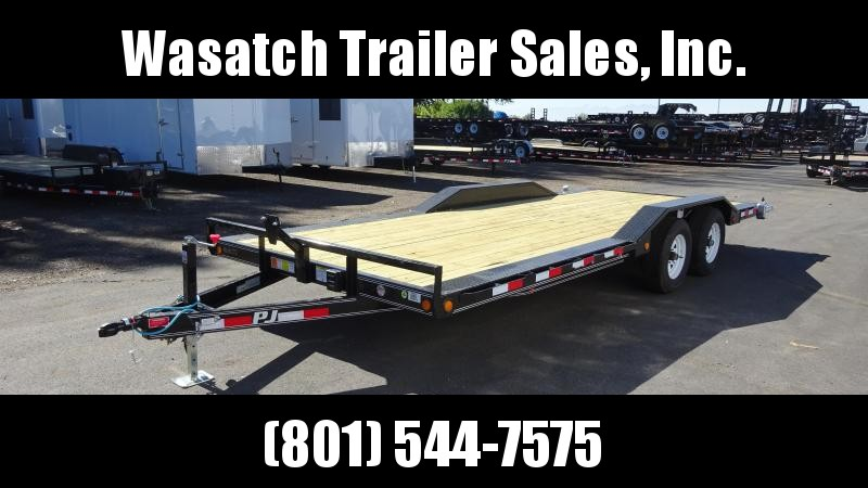 2019 PJ Trailers 5 in. Channel Buggy Hauler (B5) Equipment Trailer