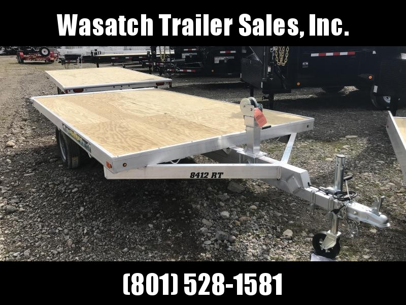 2019 Aluma 8612D Snowmobile Trailer