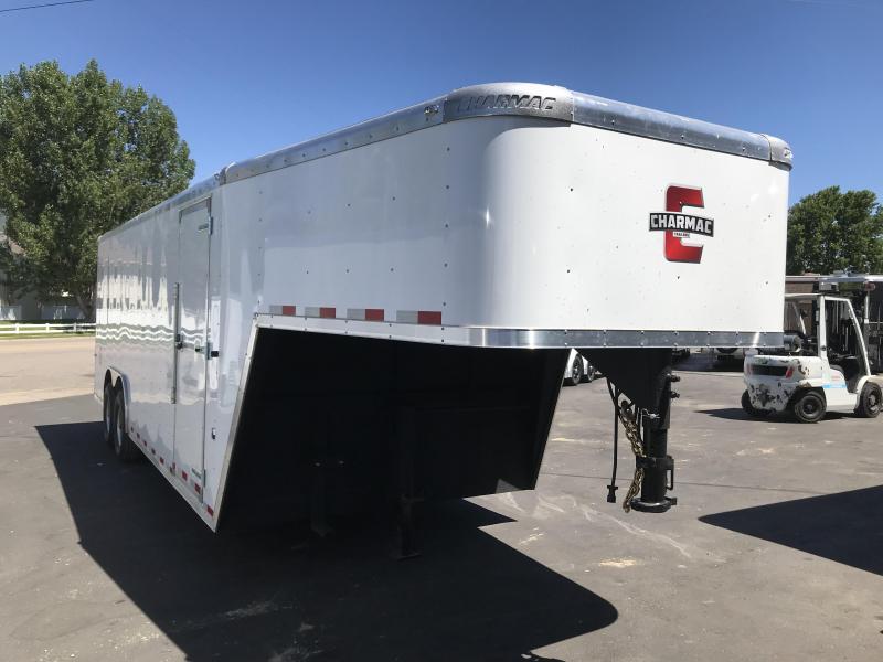 2018 Charmac Trailers 8.5x22 Gooseneck Enclosed Cargo Trailer