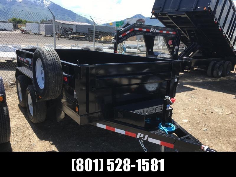6x12 PJ - Tandem Axle (D3) Dump Trailer