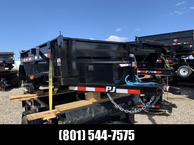 2019 PJ Trailers 5x8 Utility Dump (D5) Dump Trailer