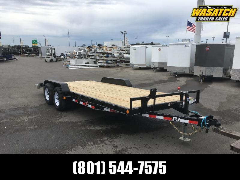 2020 PJ Trailers 20 ft. - 5 in. Channel Equipment (CE) Trailer