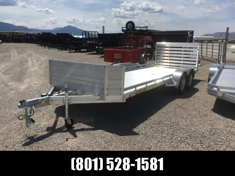 2019 Aluma 7820R Utility Trailer with Rock Guard