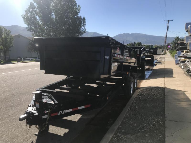 2019 PJ Trailers 83x14 Low Pro Dump Trailer
