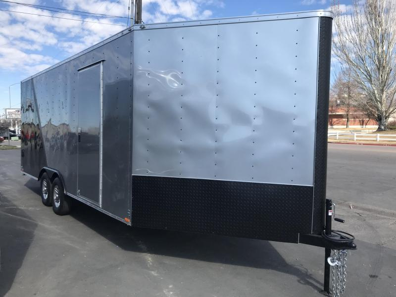 2018 Cargo Mate 25' ES Snowmobile Trailer