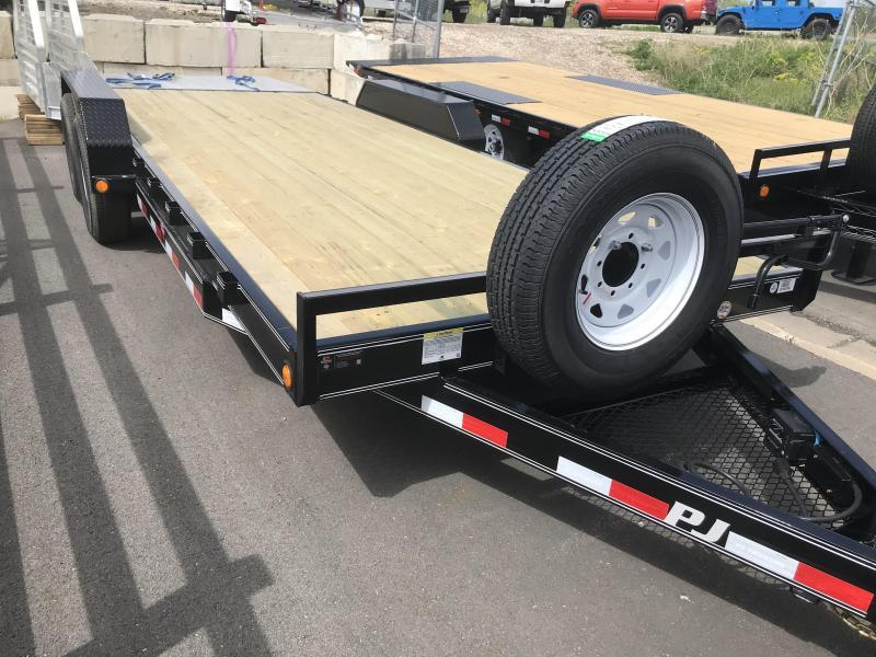 2019 PJ Trailers 20ft - 6 in. Channel Equipment (CC) Car / Racing Trailer