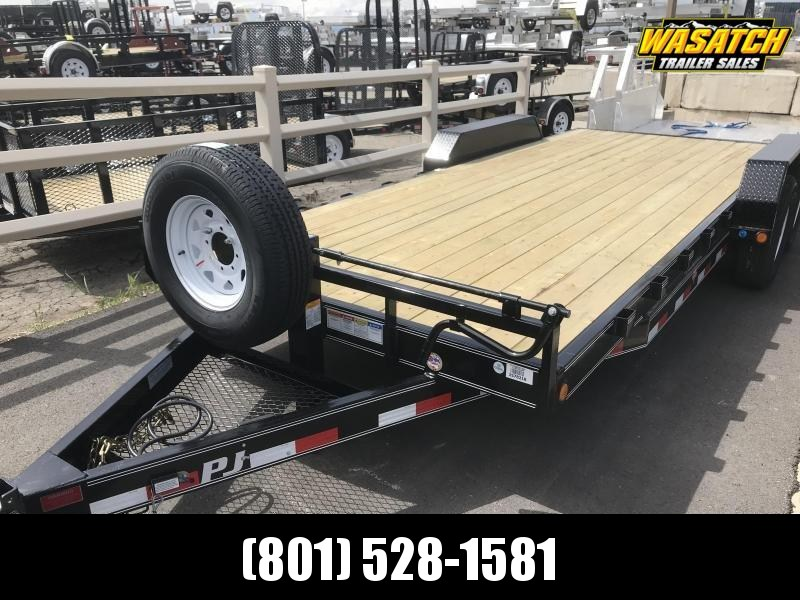 "PJ Trailers 6"" Channel Equipment (CC) Flatbed Trailer"