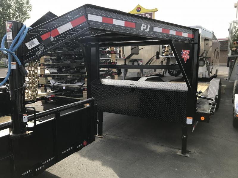 2019 PJ Trailers 22 (TS) Tilt Equipment Trailer
