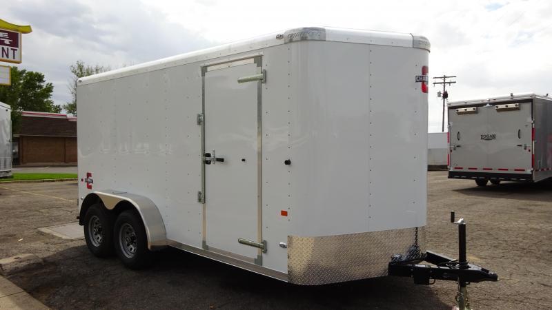 2016 Charmac Trailers 7X14 Enclosed Cargo Trailer