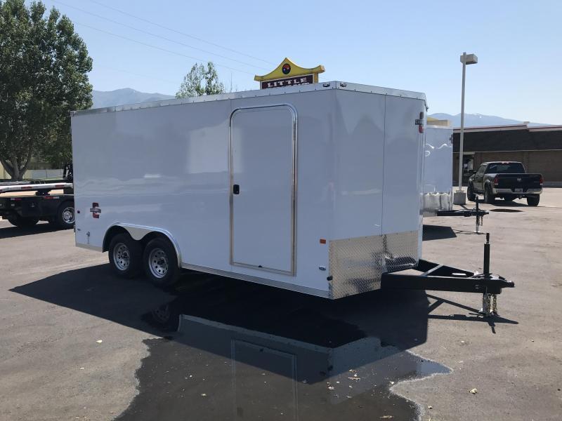 2018 Charmac Trailers 100X16 Enclosed Cargo Trailer
