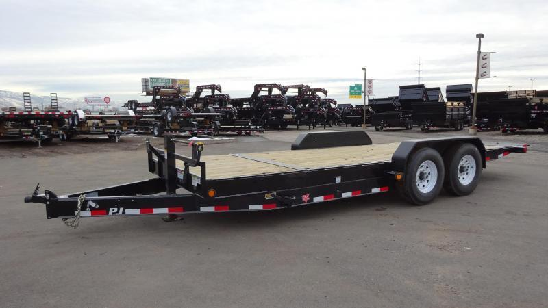 2017 PJ Trailers 20 Tilt (T7) Equipment Trailer