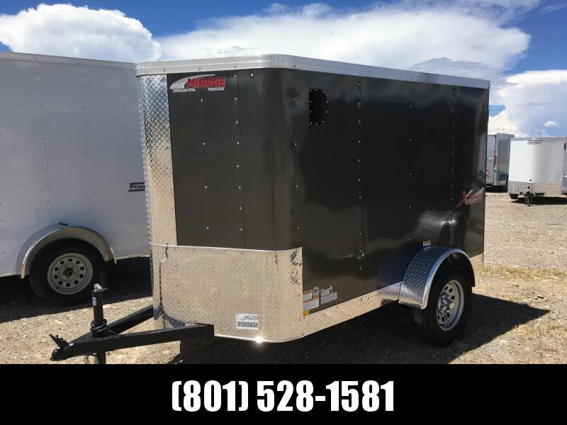 5x8 Charcoal Mirage Trailers Xpres Cargo Trailer