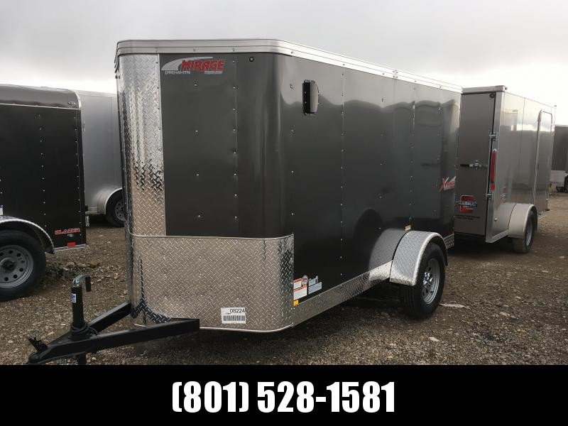 5x10 Charcoal Mirage Xpres Cargo Trailer