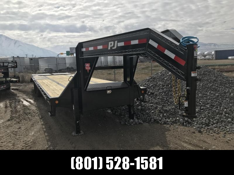 2019 PJ Trailers 32ft - Low-Pro Flatdeck with Duals (LD) Flatbed Trailer