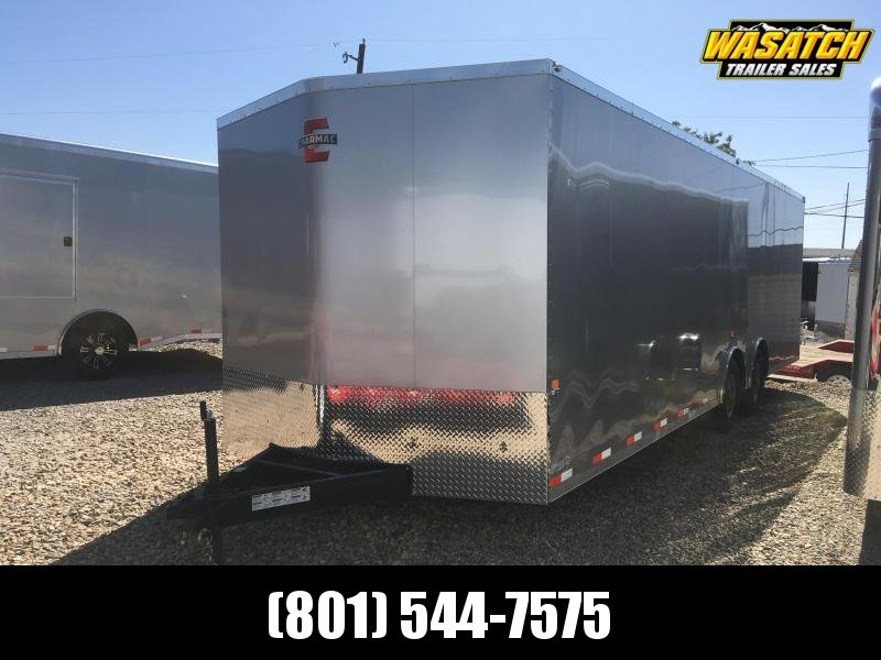 2019 Charmac Trailers 100x28 Stealth Enclosed Cargo Trailer with 6000lb Axles and Finished Interior