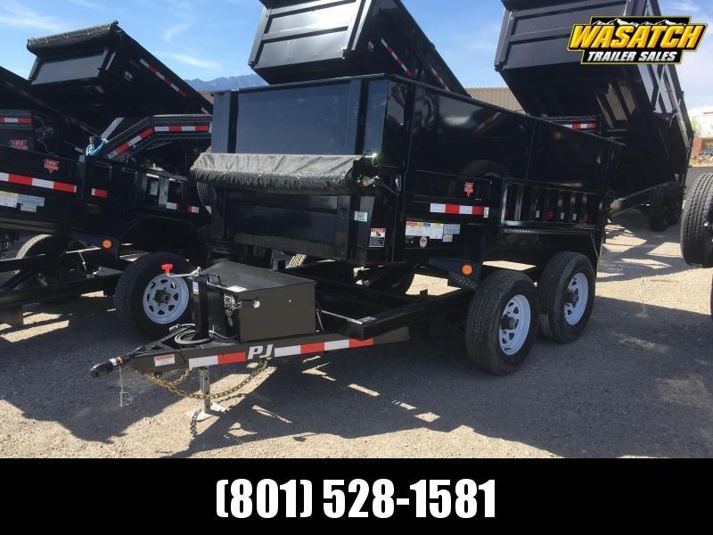 PJ Trailers 60 in. Utility (D5) Dump w/ 4' High Sides