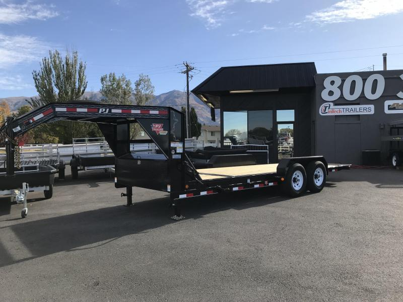 2018 PJ Trailers 20 Tilt Equipment Trailer