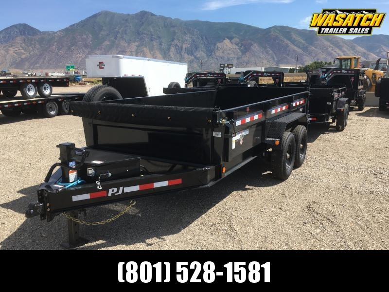 "PJ Trailers 83"" Low Pro (DL) Dump Trailer"