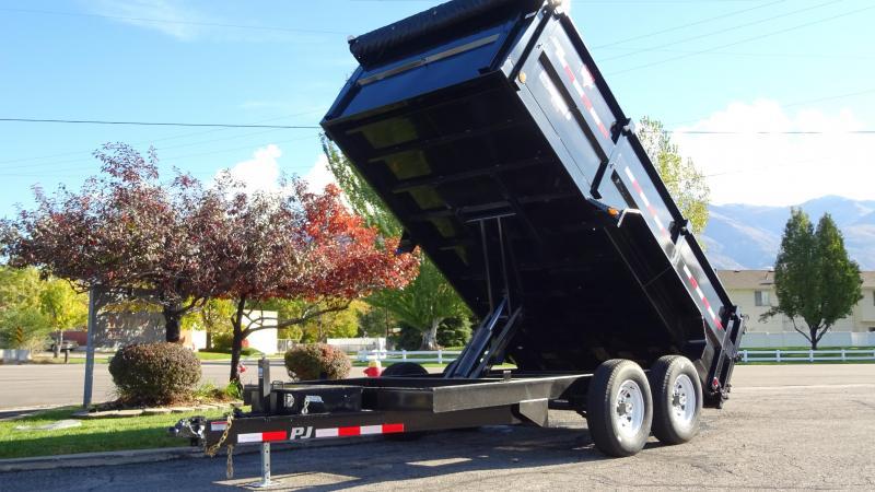 2018 PJ Trailers 14X83 High Side Dump Equipment Trailer