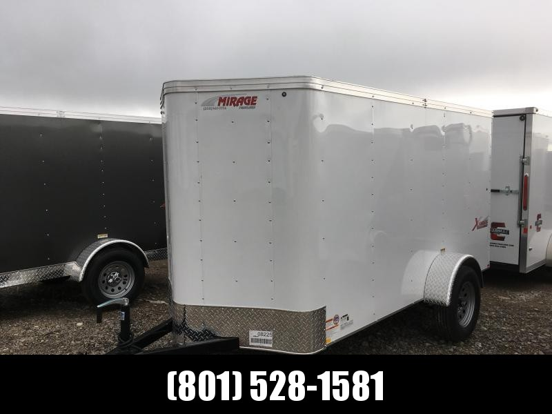 Mirage Xpres 5x10 White Cargo with Door