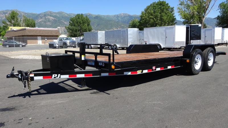 2018 PJ Trailers 20 Full Tilt Equipment Trailer