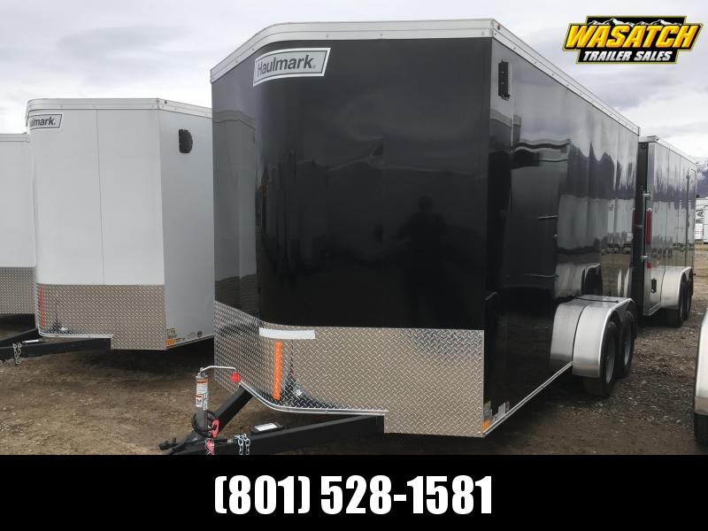 Haulmark 7x14 Transport Enclosed Steel Cargo w/ V-nose