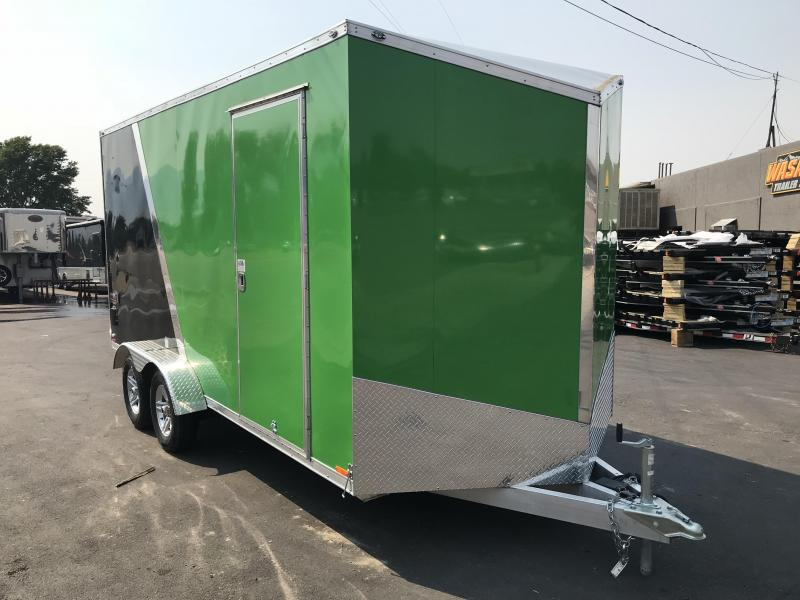 2018 Cargo Mate 7x16 Aluminum Redline Enclosed Cargo Trailer