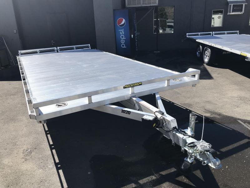 2019 Aluma 20ft 1020 Aluminum Utility Trailer