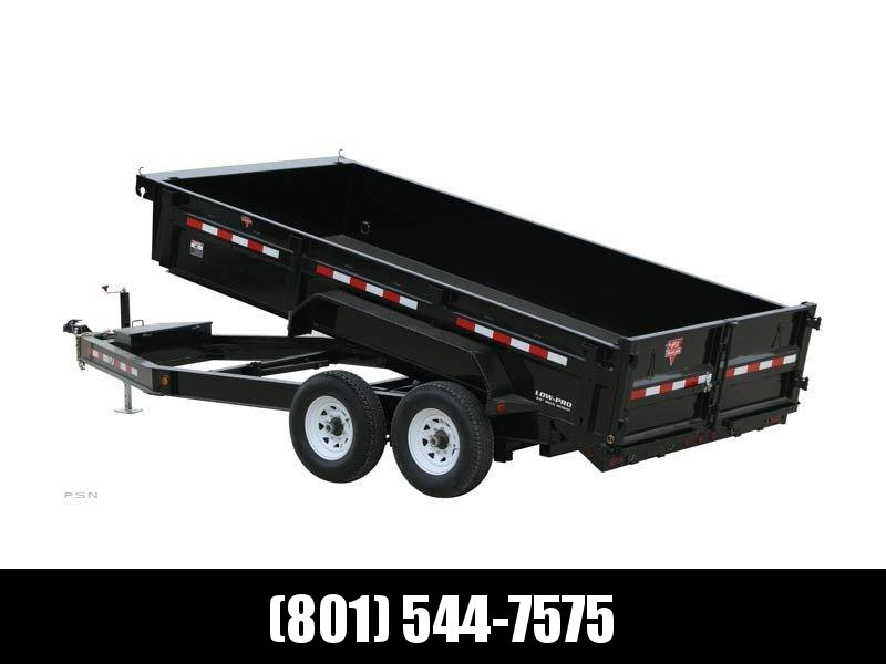 2019 PJ Trailers 83 in. Low Pro Dump (DL) Dump Trailer